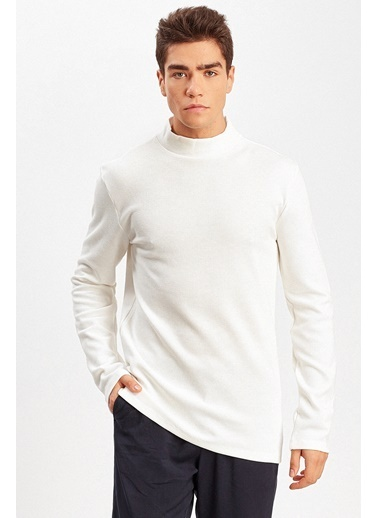 Manche Sweatshirt Ekru